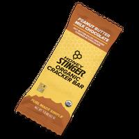 SB-02:オーガニックスナックバー:ピーナッツバター&ミルクチョコレート