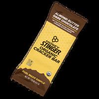 SB-01:オーガニックスナックバー:アーモンドバター&ダークチョコレート