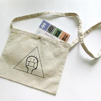 マスク少年サコッシュ【厚手コットン】