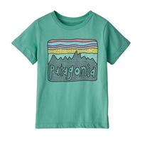 patagonia Baby Fitz Roy Skies Organic T-Shirt [LBYG] 60419 (PATAGONIKS18011)