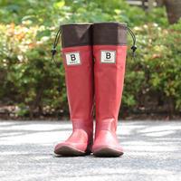 【数量限定】バードウォッチング長靴 [RED] (NIHONYACYOU001)