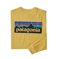 patagonia Men's Long-Sleeved P-6 Logo Responsibili-Tee® [SUYE] 38518 (PATAGONIA20031-SUYE)