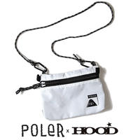 【HOOD別注商品】POLeR× HOOD STAFFABLE CAMP POUCH (WHT)