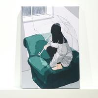 微糖 /【引きこもりっ子】複製原画 キャンバス