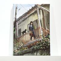 堅貝 /【家出っ子】複製原画 キャンバス