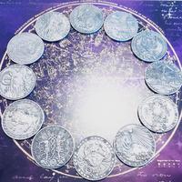#12星座コイン物語  星見当番さんのオリジナル解説付き12枚セット