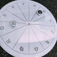 #豆惑星マグネットジェネリック ASC・MC・ドラゴンヘッド 3種セット カフェオレ (or ホワイト)