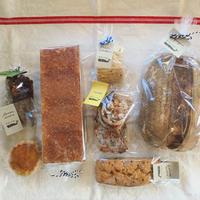 パンと焼菓子の詰め合わせ  定期便