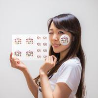 【ステッカー】劇団八幡山ほしがりシスターズロゴ