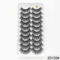 10set★3D mink★false eyelashes♡A120   cos-16