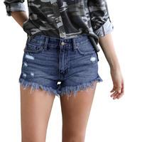 BLUE★fringe  short  pants  bot-33