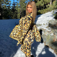 YELLOW★leopard  jumpsuit   one-207