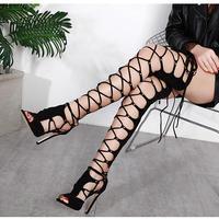 BLACK★ sexy  long  boots  sho-117