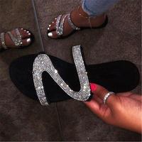 SILVER★gritter flat  sandal  sho-27