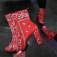 RED★paisley booty  sho-132