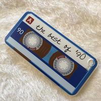カセットテープ the best of 90'★iPhoneソフトケース