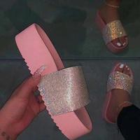 PINK★厚底 lamé  sandal  sho-38