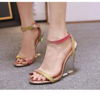 PINK★crear  wedge  sole  sho-75