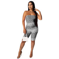 GRAY★PAISLEY    jump suits  one-108