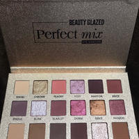 BEAUTY  GLAZED★18color eyeshadow pallet  cos-45