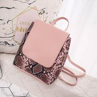 PINK    PYTHON♡back pack bag-12