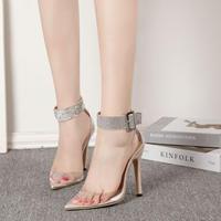 IVORY♡luxury  see-through  sandal  sho-58