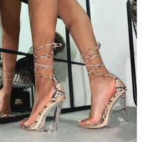 BROWN★Python  string  sandal   sho-82
