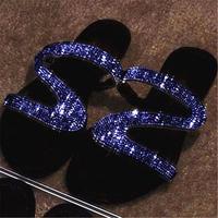 BLUE★gritter flat  sandal  sho-28