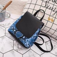 BLUE   PYTHON♡back pack bag-12