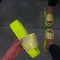 YELLOW★厚底 lamé  sandal  sho-35
