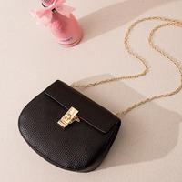 BLACK★gold  chain  shoulder  bag-07