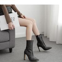 BLACK★  short  boots   sho- 96