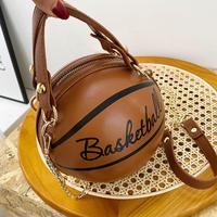 BROWN★2way★basketball  bag