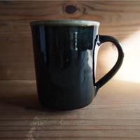 黒釉 マグカップⅡ