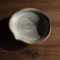 粉引 片口豆皿