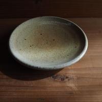 長石 五寸皿