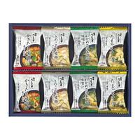 ろくさん亭 道場六三郎 スープ・味噌汁ギフト M-D16   ★非常食にもいいかも!★