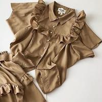 tencel box blouse