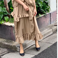 tencel box skirt