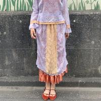 lace budding skirt