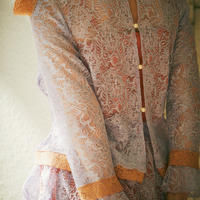 lace budding blouse