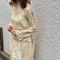 lace budding blouse
