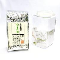 宝寿茶1kg+ワンタッチ密封保存容器セット