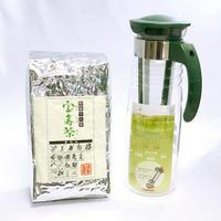 宝寿茶1kg+水出し茶ポットセット