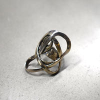 60s Statement Knot Ring