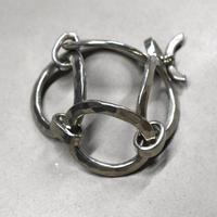 70s Bent Larsen Large Oval Chain Bracelet