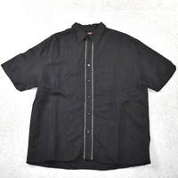 SOBRINO Line Color Shirt BLK