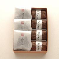 しぼり豆・栗きんとん詰合せ箱:しぼり豆丹波黒大寿 小袋3袋、栗きんとん4個