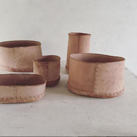 Leather Bowl set (送料込み)
