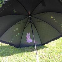 〈レビューいただきました!〉HowCute® うさちゃんの晴雨兼用傘大人用